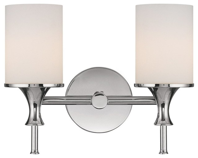 Capital Lighting Fixtures Studio 2 Light Bathroom Vanity Light Polished Nickel View In Your