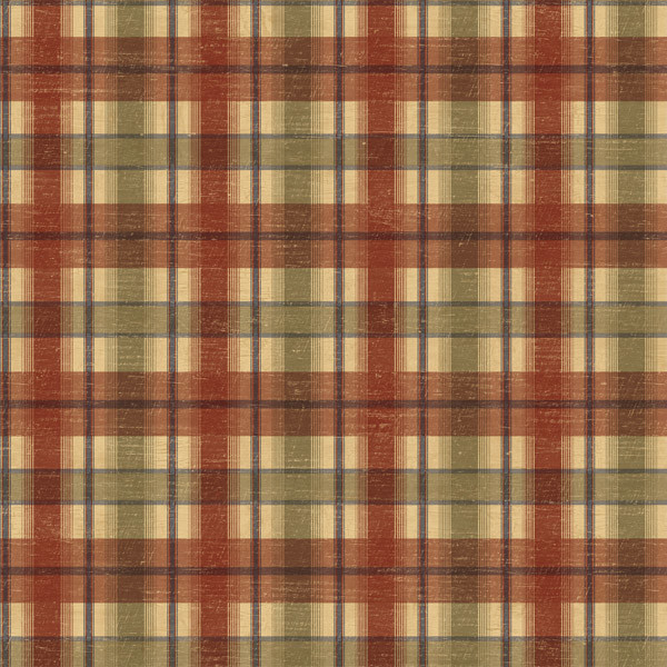 Brown Plaid Wallpaper: Cherry Wooden Plaid Wallpaper