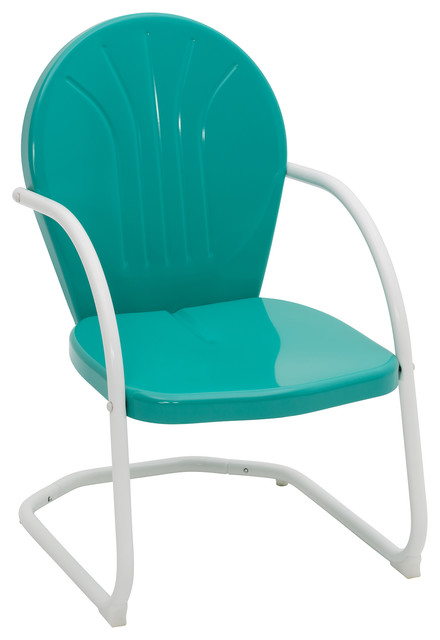 Jack Post Turquoise Chair.