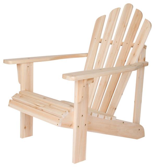 Chatham Adirondack Chair, Unfinished.