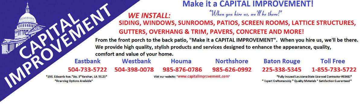 Reviews of capital improvement harahan la us 70123 for Bedroom furniture 70123