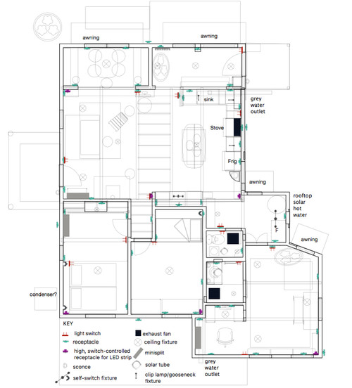 Key Electrical Outlet Floor Plan,Electrical.Home Plans Ideas Picture