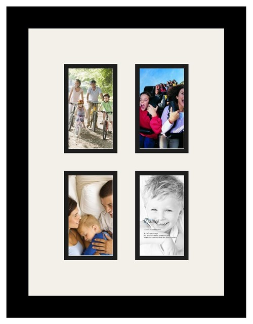 ArtToFrames Alphabet Photography Picture Frame with 4 - 3x5 Openings ...