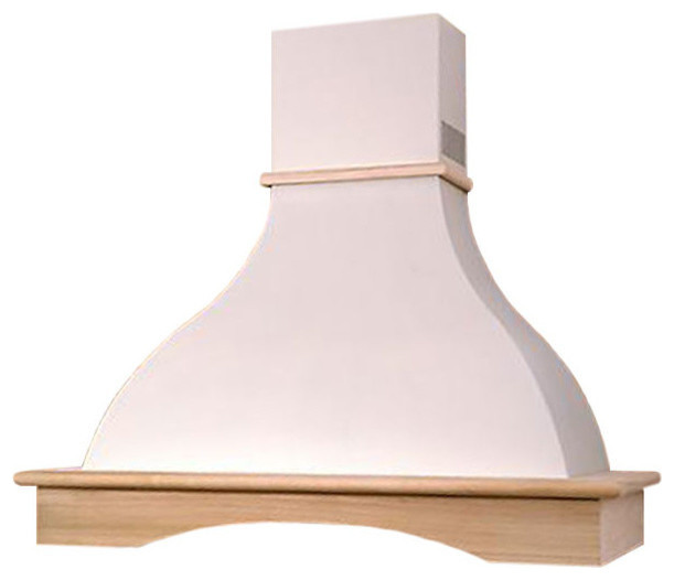 range hood wall mounted wood country style chr114 nt air made in italy