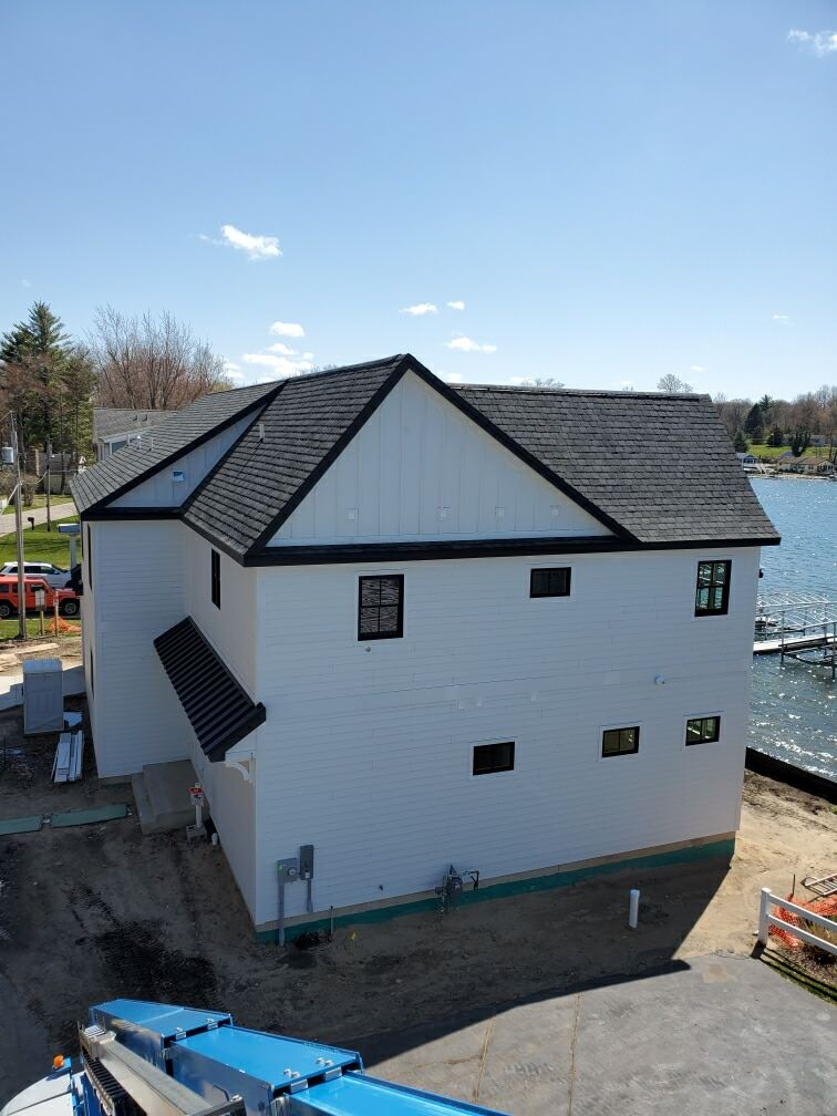 Magician Lake New Construction In Process