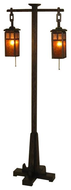 Mission Floor Lamps: ADK Adirondack Craftsman Lighting Mission Style Floor Lamp craftsman-floor- lamps,Lighting