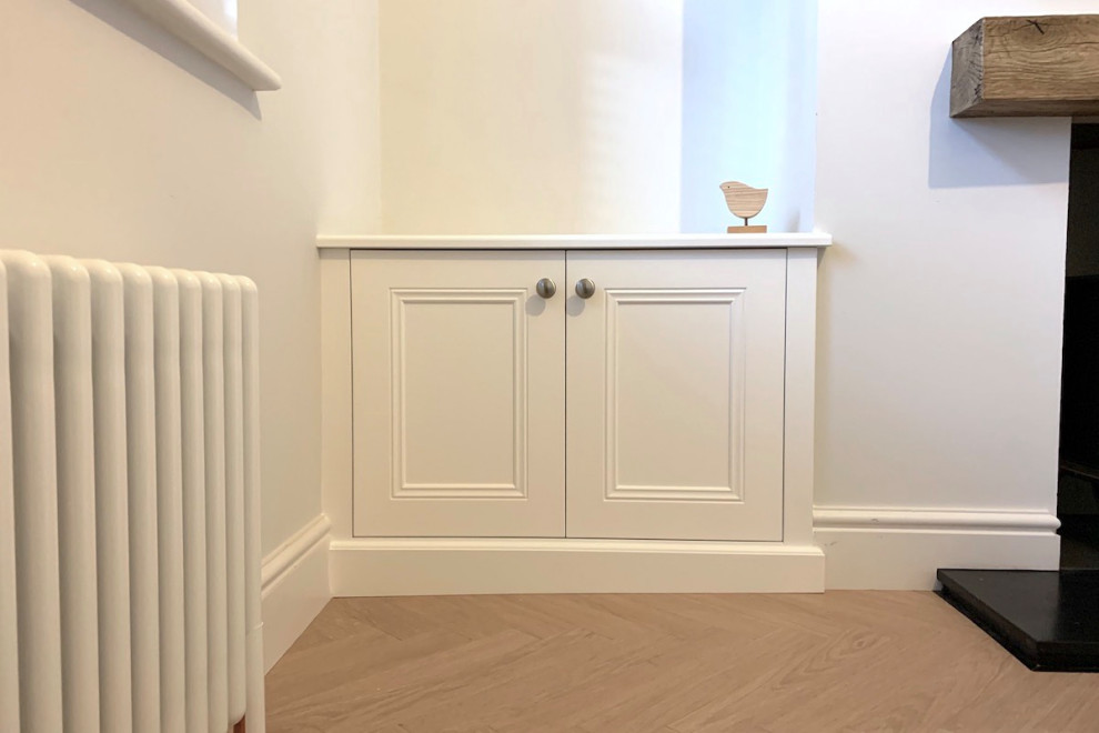 Classic Alcove Base Cabinet on Sloping Floor