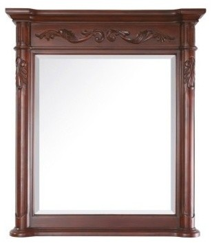 Avanity Provence Mirror In Antique Cherry Finish.