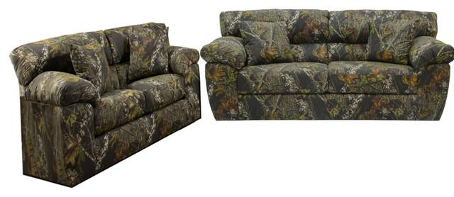 Jackson Furniture Big Game Living Room Set, Mossy Oak - Rustic ...