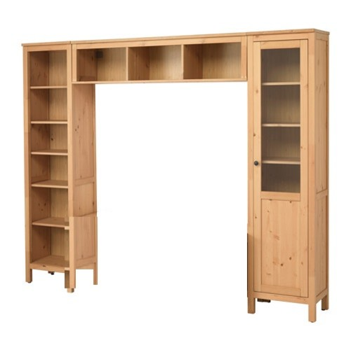 And there is also a similar configuration from Besta, though it might be to  contemporary for you. Finally, it's likely the built in could be arranged  using ... - Ikea Hack For Built Ins?