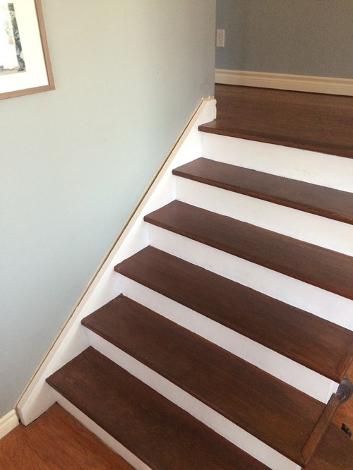 Refinished Floor And Stairs
