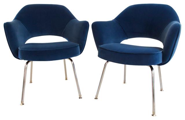 Saarinen Executive Armchairs, Set Of 2