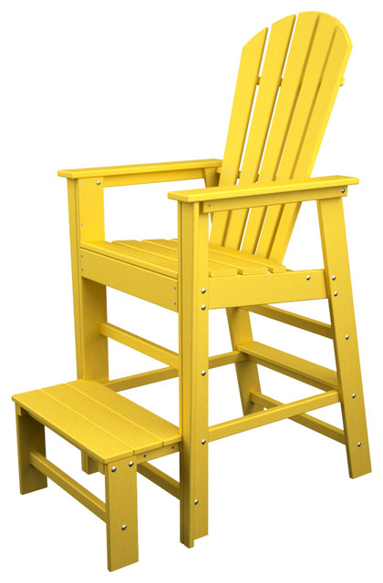 south beach lifeguard chair adirondack chairs by polywood furniture. Black Bedroom Furniture Sets. Home Design Ideas