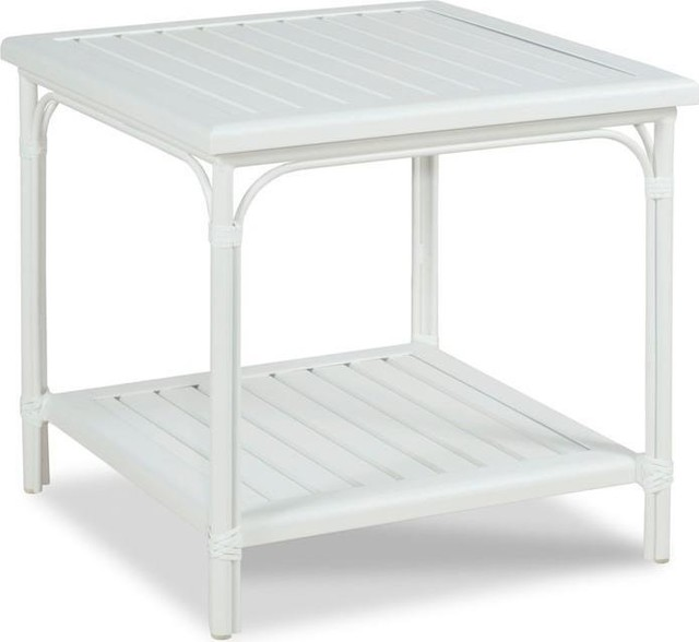 Outdoor Patio Furniture In Vaughan: Side Table Woodbridge Outdoor Square Slatted