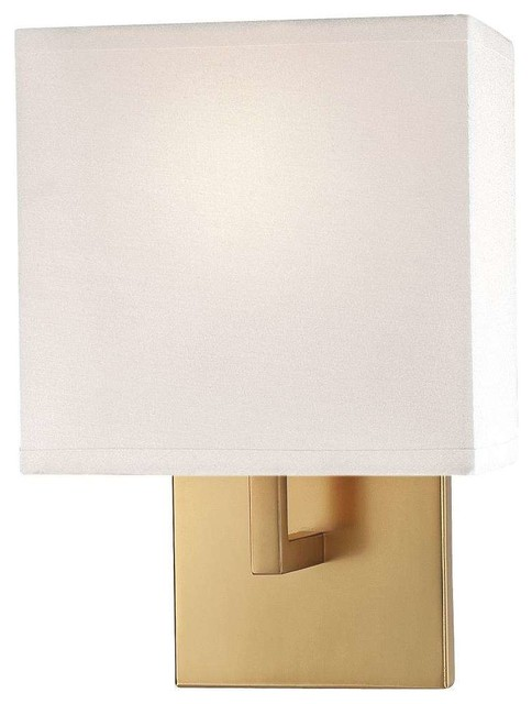 George Kovacs P470 248 Wall Sconces, Honey Gold Contemporary Wall Sconces
