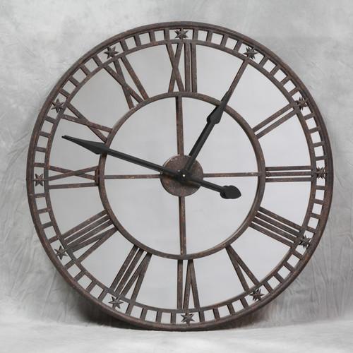 Roman Numeral Mirror Clock