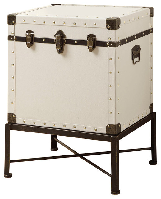 Coaster Trunk-Style Accent Side Table