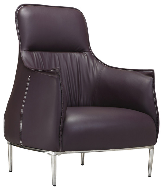 Court chair plum modern dining chairs by ceets for Plum dining room chairs