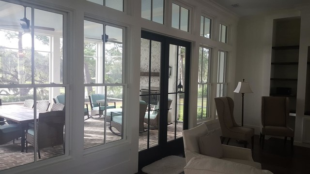 Oldfield Home Project beach-style-family-room