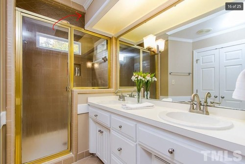 What to do with flourescent lights in master bath aloadofball Gallery