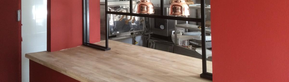 Meliade bouffere fr 85600 for Cuisine avec passe plat bar