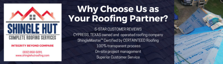 SHINGLE HUT COMPLETE ROOFING SERVICES