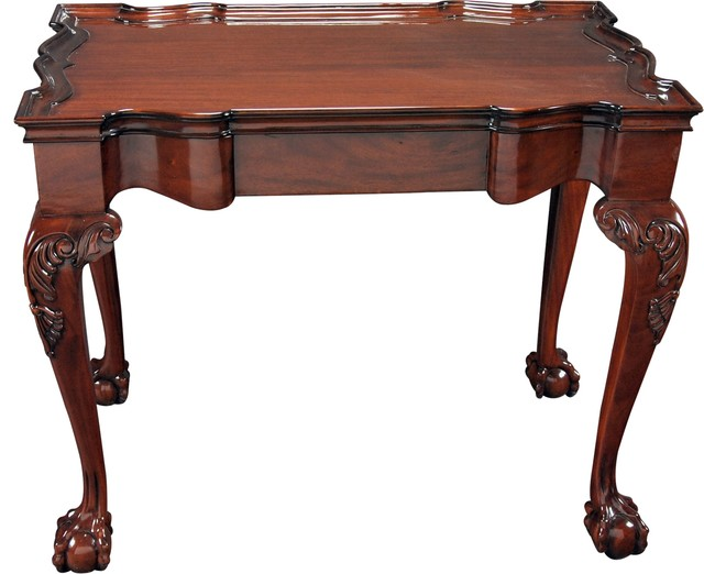 Tea Table New England Antique Reproduction Traditional Coffee Tables By Euroluxhome