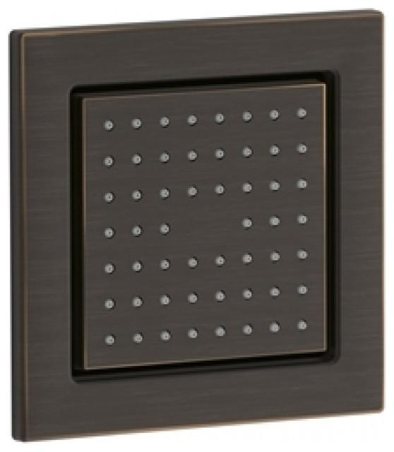 Square Shower Body Massage Panel Oil Rubbed Bronze