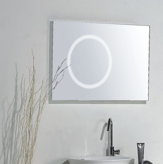 bathroom mirrors dallas mirror with integrated lighting modern 11126
