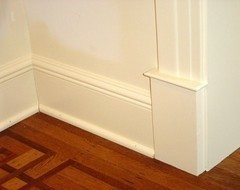 Painted or stained shoe molding for hardwoods?