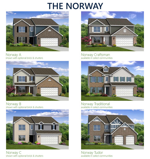 What would you choose?? New home exterior options
