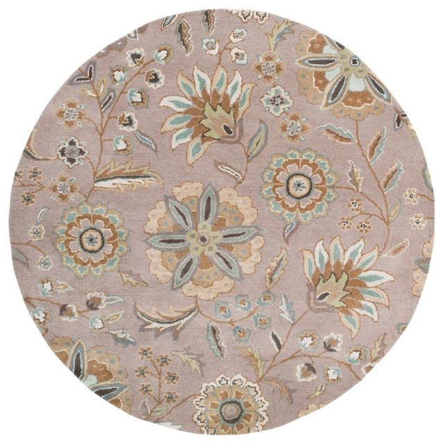 Round Or Rectangular Area Rug: Contemporary Rectangle Area Rug, Augustus Collection