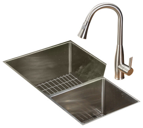 Ruvati Rvc2350 Stainless Steel Kitchen Sink And Stainless