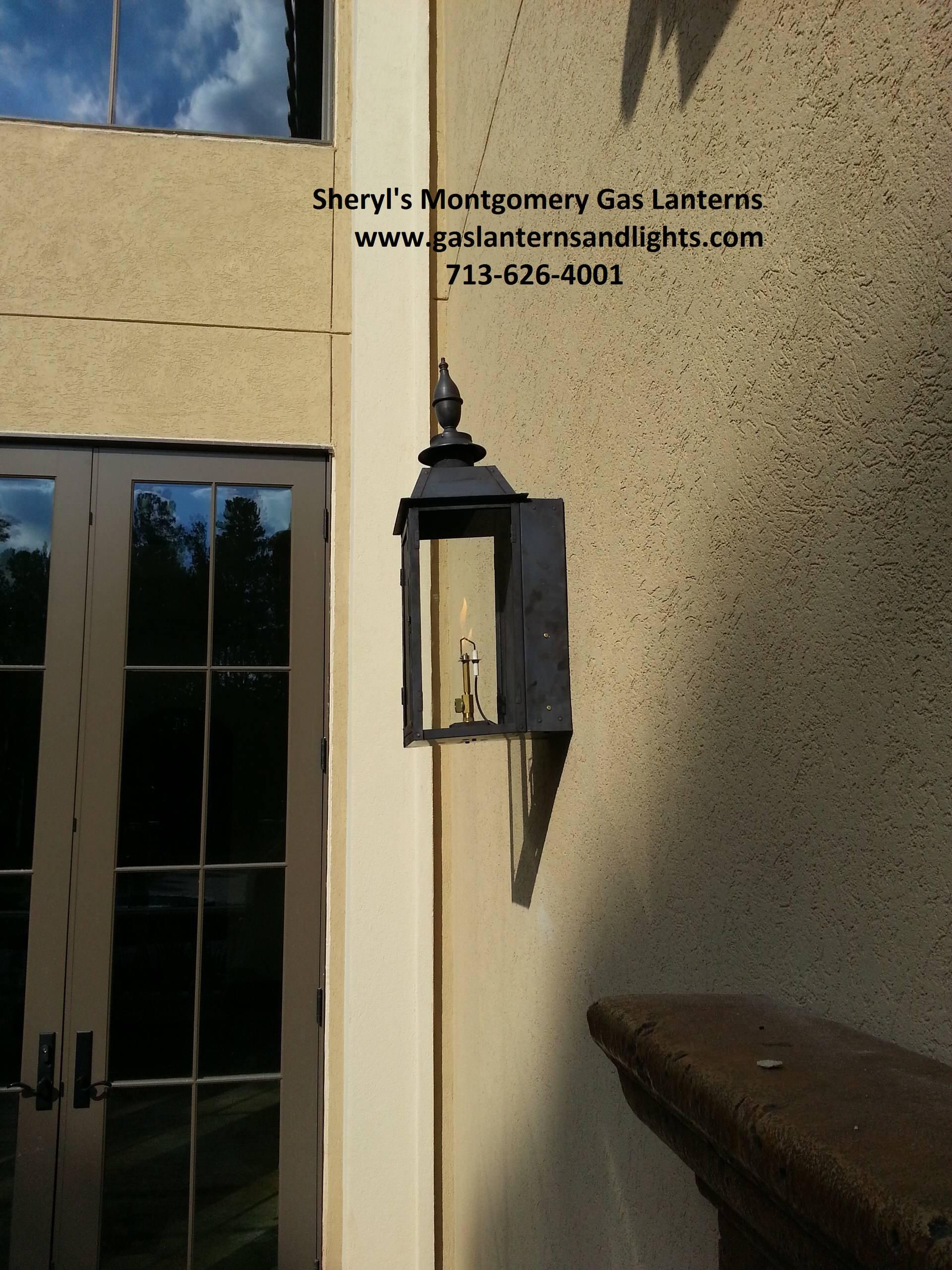 Sheryl's Montgomery Gas Lanterns