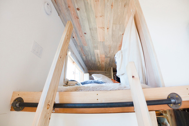 Tiny House Ladder to Loft Modern San Francisco by The Tiny