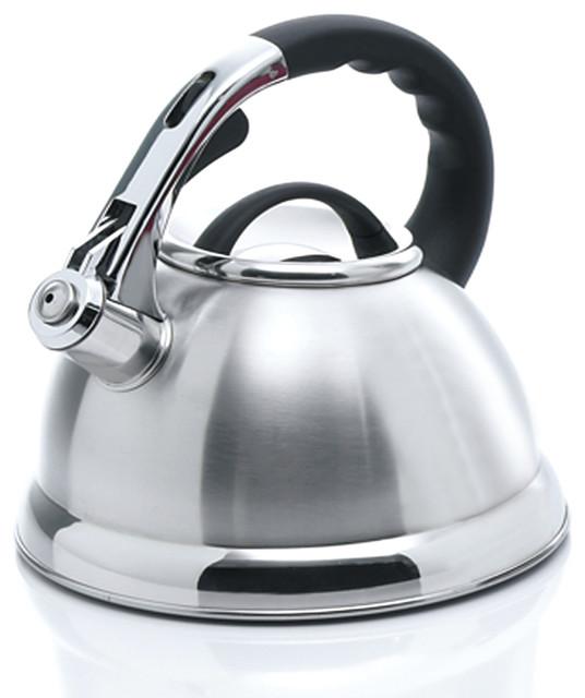 Camille Stainless Steel Tea Kettle, 3.0 Quart.