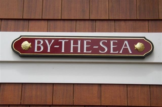 By-The-Sea Sign