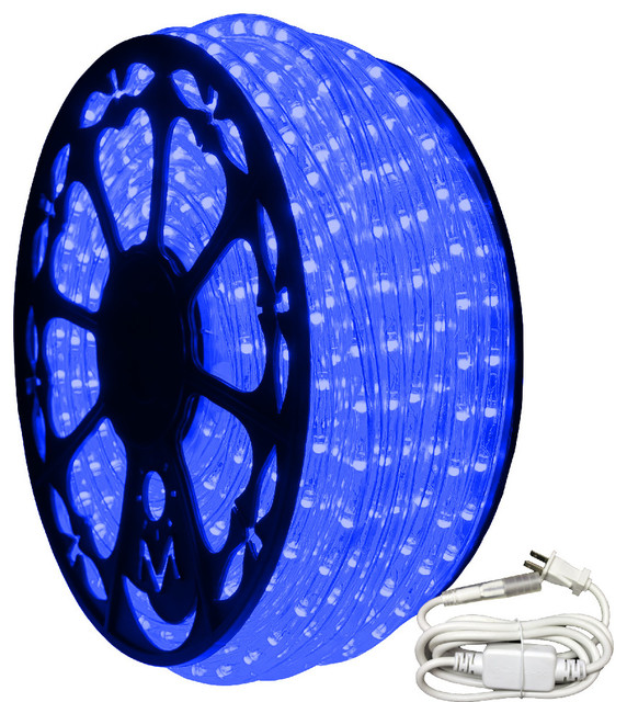 120v Dimmable Led Blue Rope Light Standard Kit 513pro Series