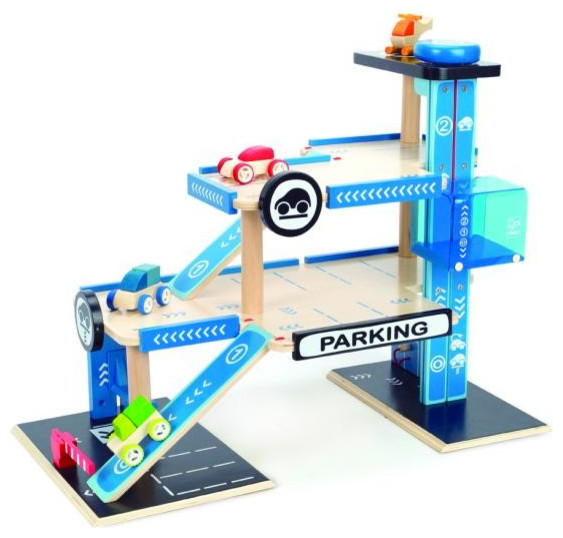 City parking garage kids toy contemporary baby and for Kitchen set zabawka