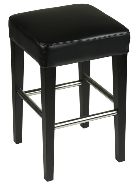 leather counter stools backless cortesi home backless counter stool genuine leather 6890