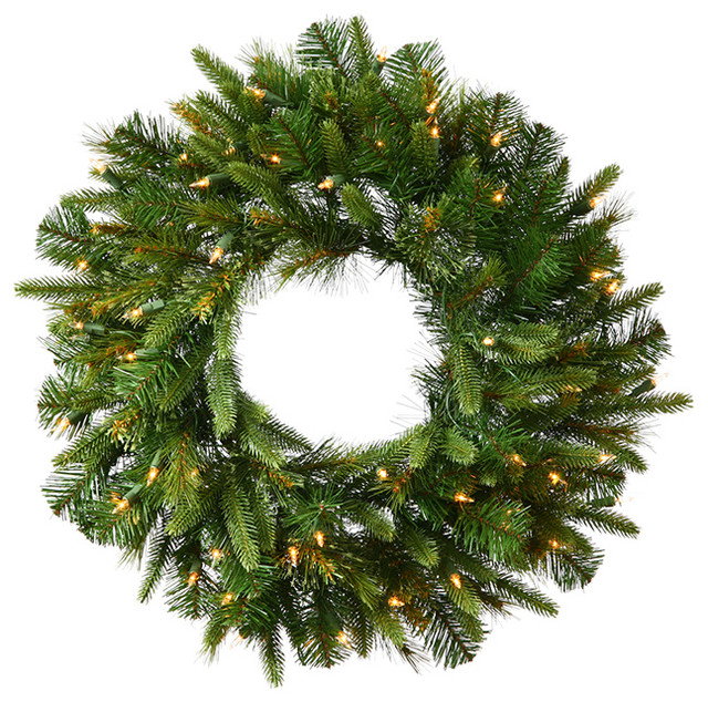 30 pre lit battery operated mixed pine cashmere christmas wreath