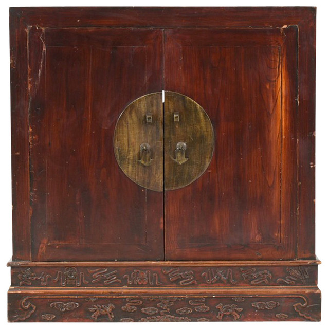 Consigned, Antique Chinese Medallion Buffet - Asian - Buffets And  Sideboards - by De-cor - Consigned, Antique Chinese Medallion Buffet - Asian - Buffets And
