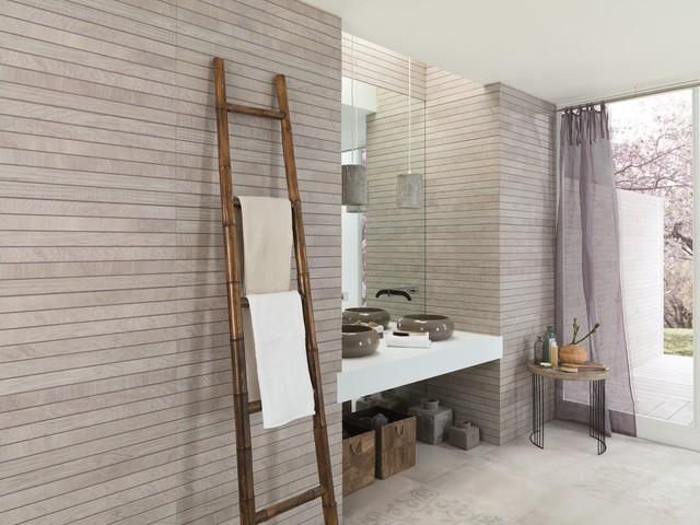 Bathroom Tiles Oxford timber look tiles - liston oxford acero - contemporary - bathroom