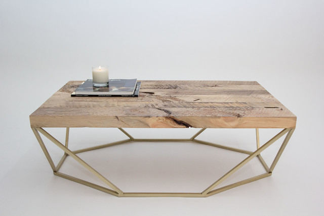 Dusk Coffee Table Reclaimed Woodbrass Contemporary Coffee