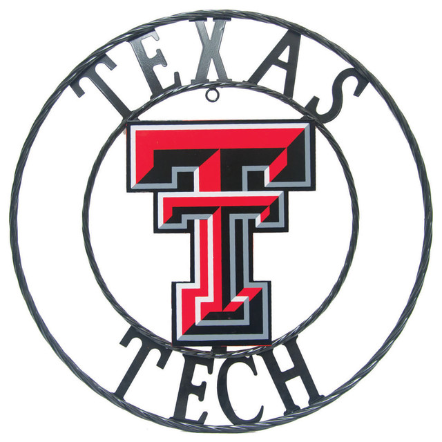 Texas Tech Red Raiders Wrought Iron Wall Decor Metal