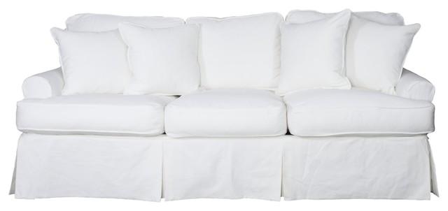 Whitman Sofa Slipcover Warm White