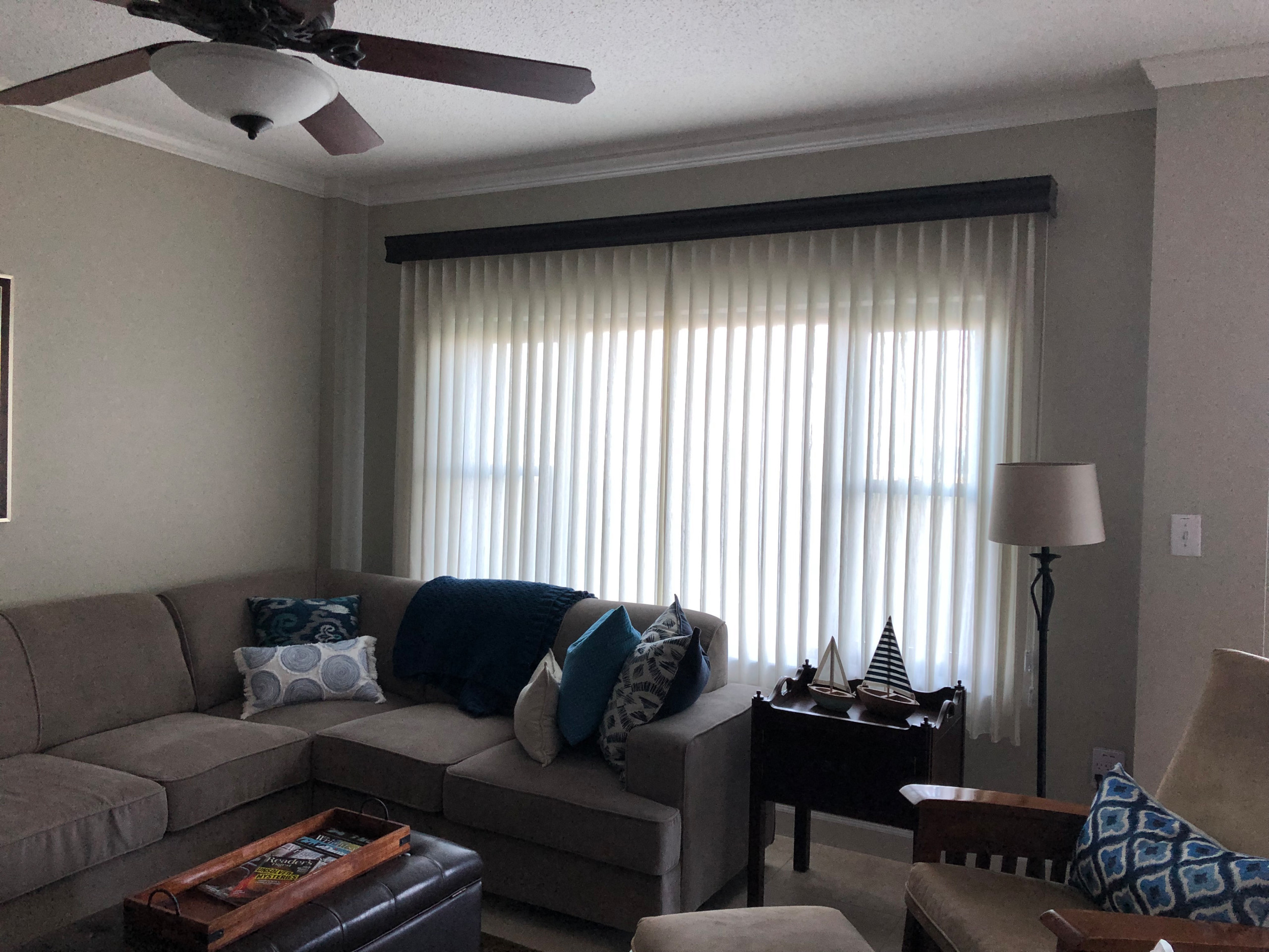 Before & After Sheer Vision Window Treatment