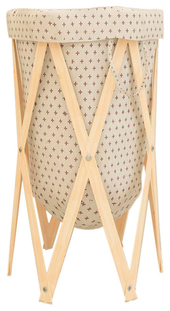 Cross-Foldable Laundry Hamper Blh13.