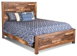 Fulton Solid Wood Queen Size Bed Frame