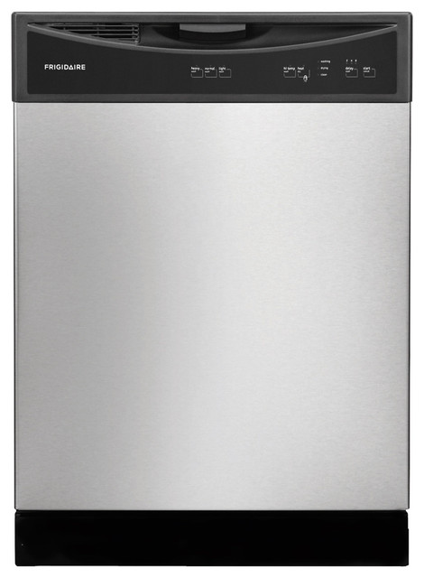 24 Built, Full Console Dishwasher Stainless Steel.